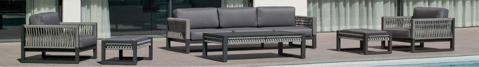 Mobles Sandi, Sant Feliu de Guixols (Gerona)- Mobiliario y sofás para exterior y jardin